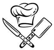 Kochen des Hutes, kochend lizenzfreie stockfotografie