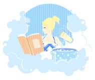 Kochen des Mädchens Stockbilder
