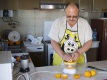 Kochen des Mannes Lizenzfreies Stockbild