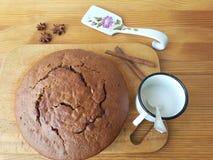 Kochen mit Zimt- und Anisstern für eine Pflanzenkost Stockfoto
