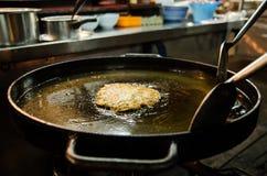 Kochen und gebraten Lizenzfreie Stockfotos