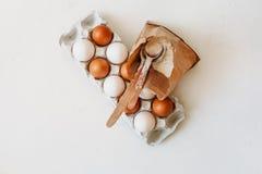 Kochen von Kuchen und von Bonbons stockfoto
