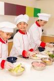 Kochen von Lektion Lizenzfreie Stockbilder