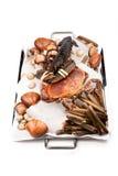 Kochen von Recepies Stockfotografie