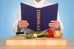 Kochen von A-Z Stockfoto