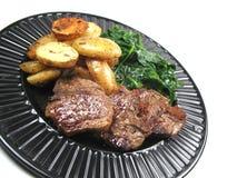 Kochend heiße Nahrung Stockbild