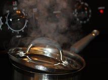 Kochender Potenziometer Stockbild