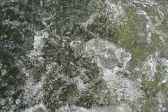Kochendes klares Wasser lizenzfreie stockbilder