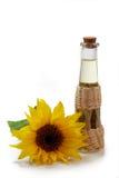Kochendes Schmieröl mit Sonnenblume Lizenzfreie Stockbilder