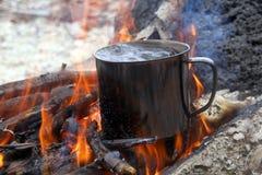 Kochendes Wasser Lizenzfreie Stockfotografie