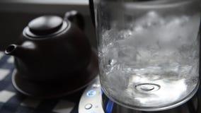 Kochendes Wasser stock footage