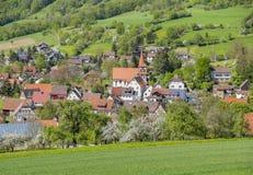 Kocherstetten in Hohenlohe Stock Image