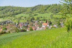 Kocherstetten in Hohenlohe Royalty Free Stock Image