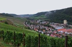 Kochertal em Hohenlohe Foto de Stock Royalty Free