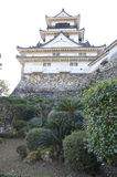 Kochi Castle. Japan showing donjon. Photo taken Dec 2014 Royalty Free Stock Photos
