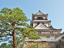 Kochi Castle in Kochi Prefecture, Japan. Royalty Free Stock Images