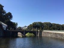 Kochi, Japan - Maart 26, 2015: Algemene mening van Kochi-Kasteel binnen Royalty-vrije Stock Foto