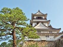Kochi kasztel w Kochi prefekturze, Japonia Obrazy Royalty Free