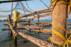 Kochi kinesfisknät Royaltyfri Fotografi