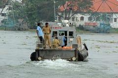 Kochi Marine Coastguard royaltyfri foto