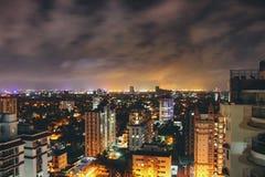 Kochi. Night lights Stock Photos