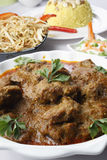 Kochi Panther curry or mutton curry from bengal Royalty Free Stock Image