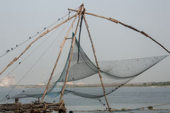 Kochi`s chinese nets Royalty Free Stock Images