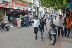 Kochi traffic Royalty Free Stock Photography