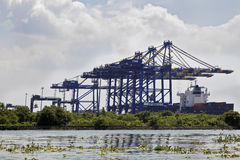 Kochin Container Terminal Royalty Free Stock Photo