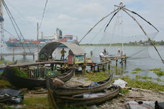 Kochin fishing Stock Image