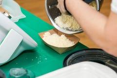 Kochkurs Schnell und leichte Art, Mahlzeiten vorzubereiten lizenzfreie stockbilder