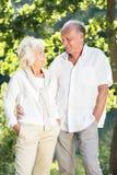 Kochliwy starszy małżeństwo obrazy stock