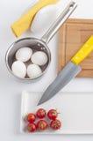 Kochvorbereitungsset Lizenzfreie Stockbilder