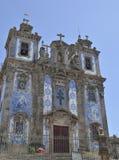 Kościół dekorujący z płytkami Zdjęcia Royalty Free