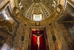 Kościół Gesu, Rzym, Włochy Zdjęcia Royalty Free