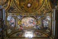 Kościół Gesu, Rzym, Włochy Obraz Stock