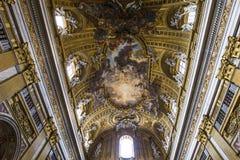 Kościół Gesu, Rzym, Włochy Zdjęcie Stock