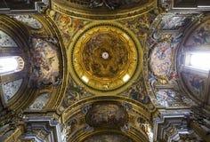 Kościół Gesu, Rzym, Włochy Obraz Royalty Free