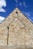 Kościół plecy ściana Obrazy Royalty Free