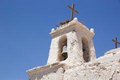 Kościół San Fransisco, Chiu Chiu, Chile Fotografia Stock