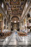 Kościół San Marcello al Corso w Rzym Fotografia Stock