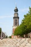 Kościół St Michael w Hamburg Niemcy Fotografia Stock