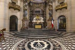 Kościół Val De Ozdabiający, Paryż, Francja Obraz Stock