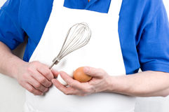 Kock med blandaren Royaltyfri Bild