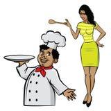 Kock och kock Royaltyfria Foton