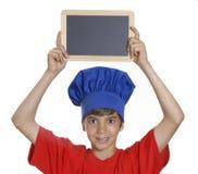 Kocken skolar. Arkivfoto