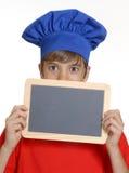 Kocken skolar. Arkivbild