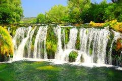 Kocusa-Wasserfälle Stockbild