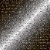 kod binarny 3 d internetu wytapiania pojęcia ochrony Zdjęcia Stock