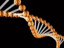 kod genetyczny 3 d ilustracja wektor